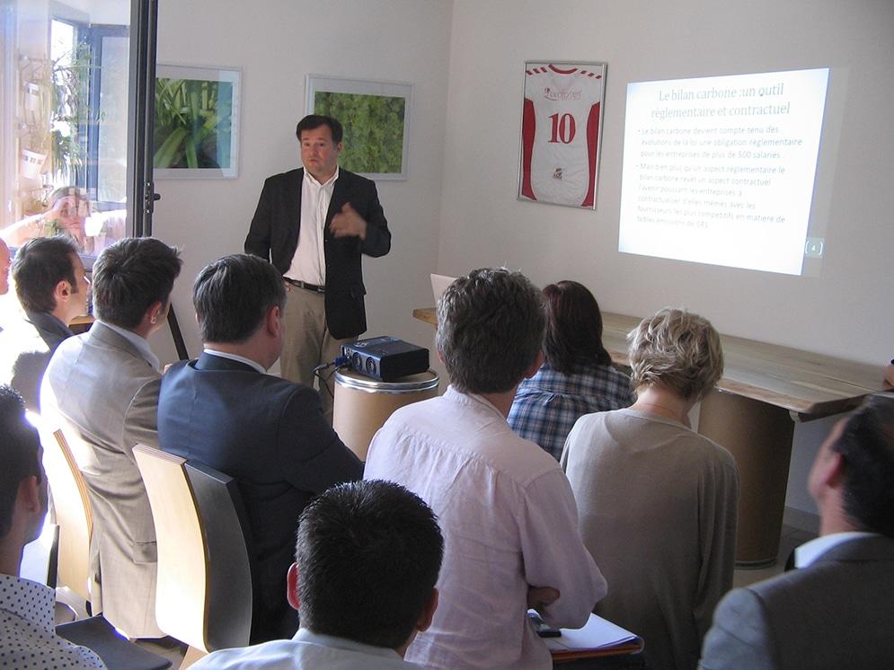 34 entreprises invitées pour parler Bilan Carbone