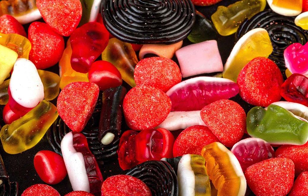 Des nanoparticules dans les bonbons