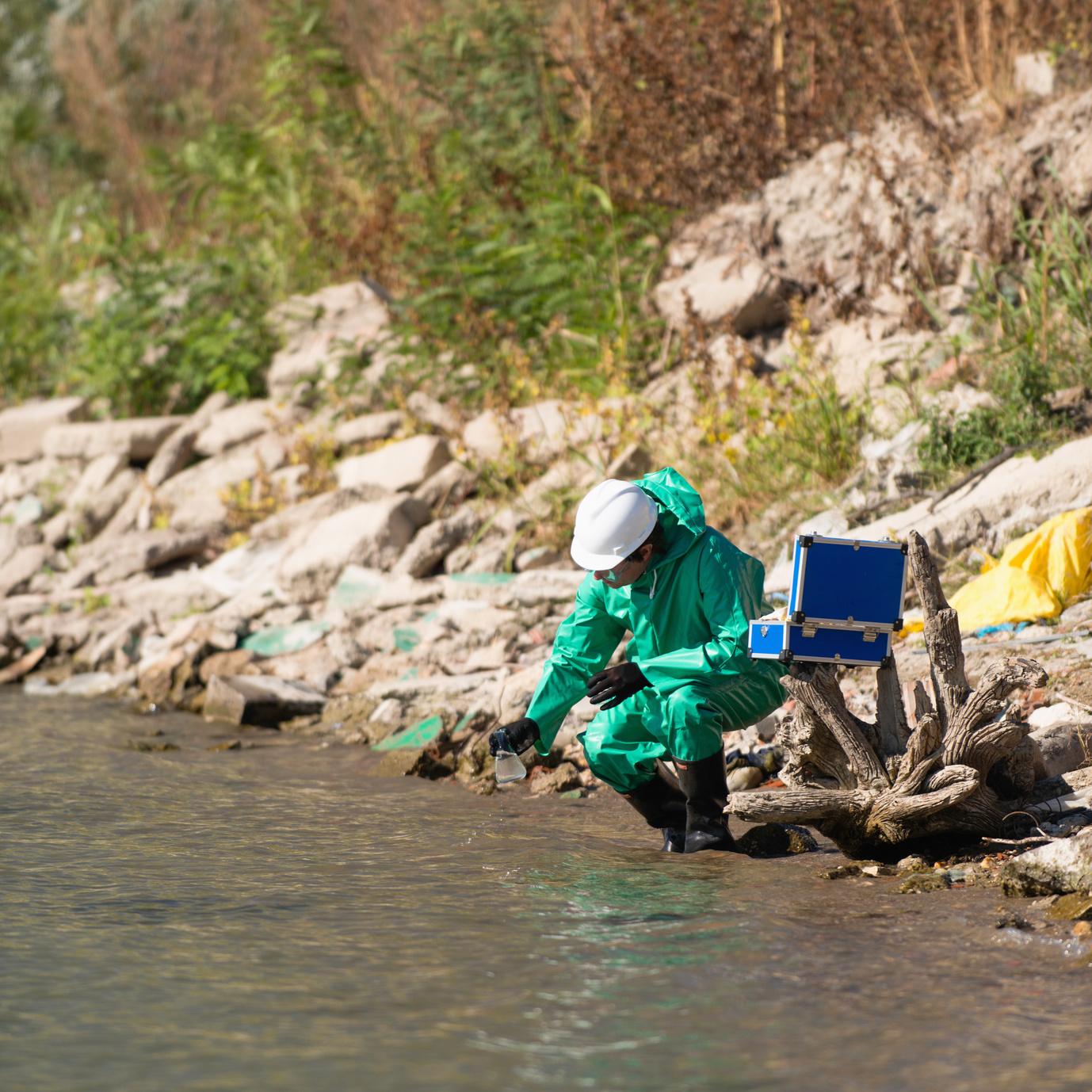 Les bactéries antibiorésistantes dans les effluents