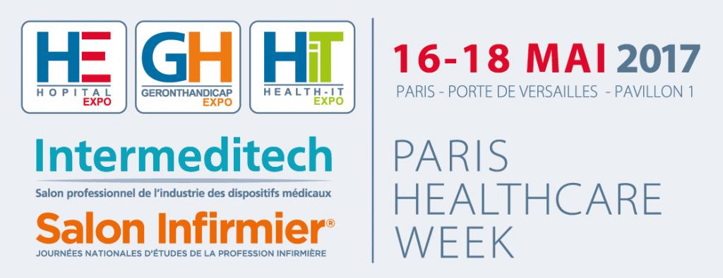 Rejoignez-nous à la PARIS HEALTHCARE WEEK du 16 au 18 mai
