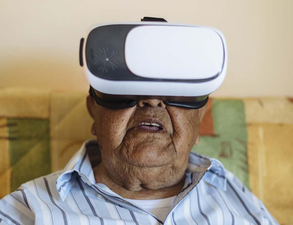 la réalité virtuelle pour accompagner les patients en fin de vie