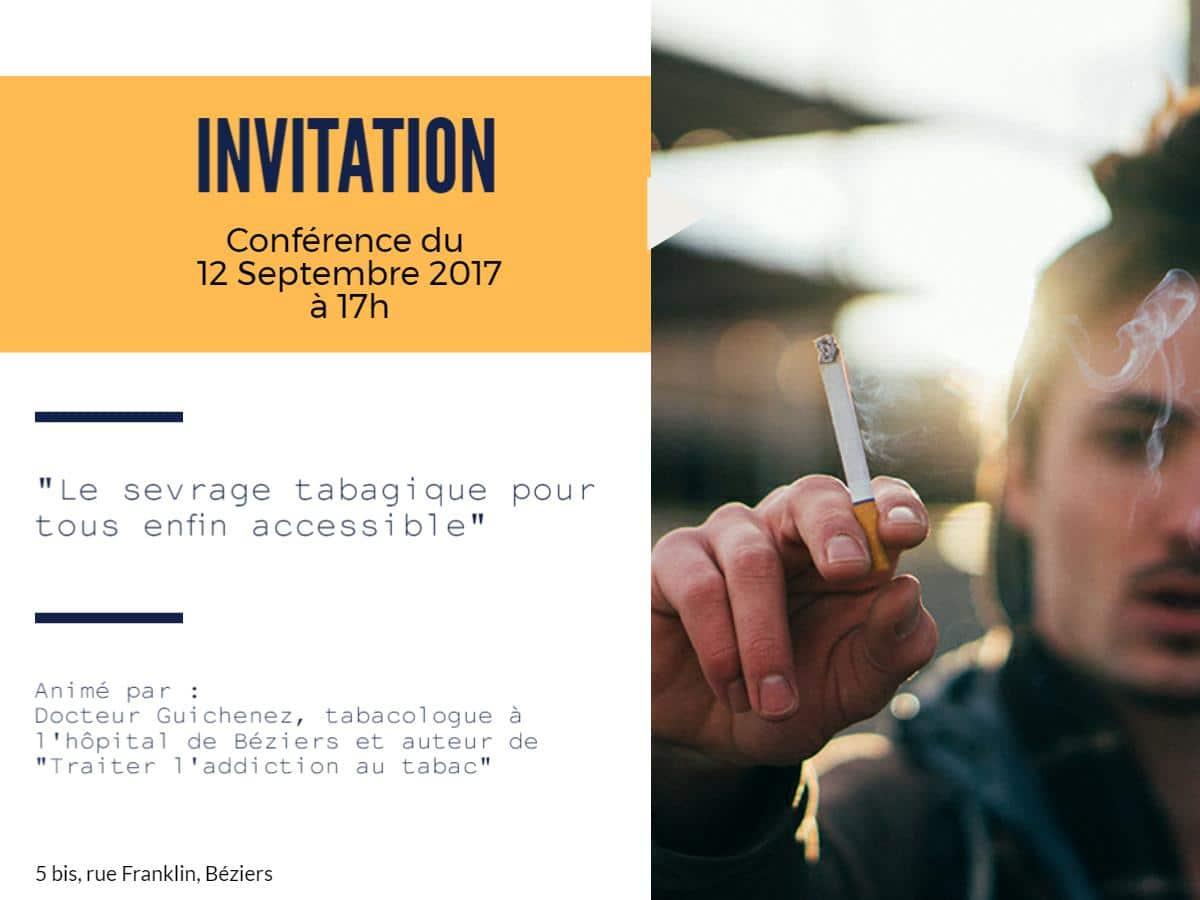 """Conférence """"Le sevrage tabagique pour tous enfin accessible"""""""