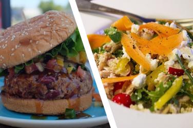 Préparez vos repas, mangez sain et évitez les phtalates.
