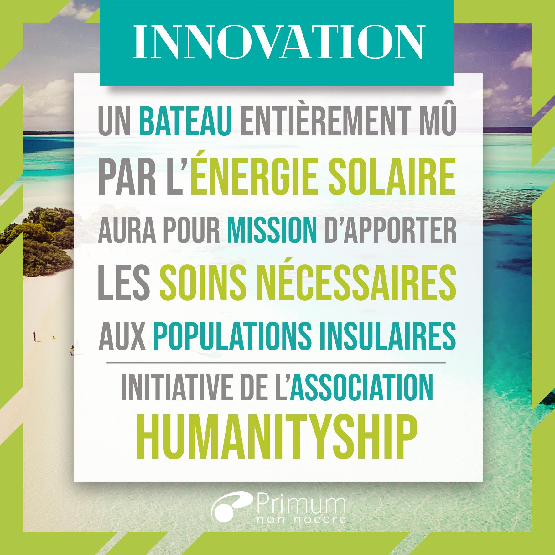 Un bateau-hôpital solaire au secours populations insulaires