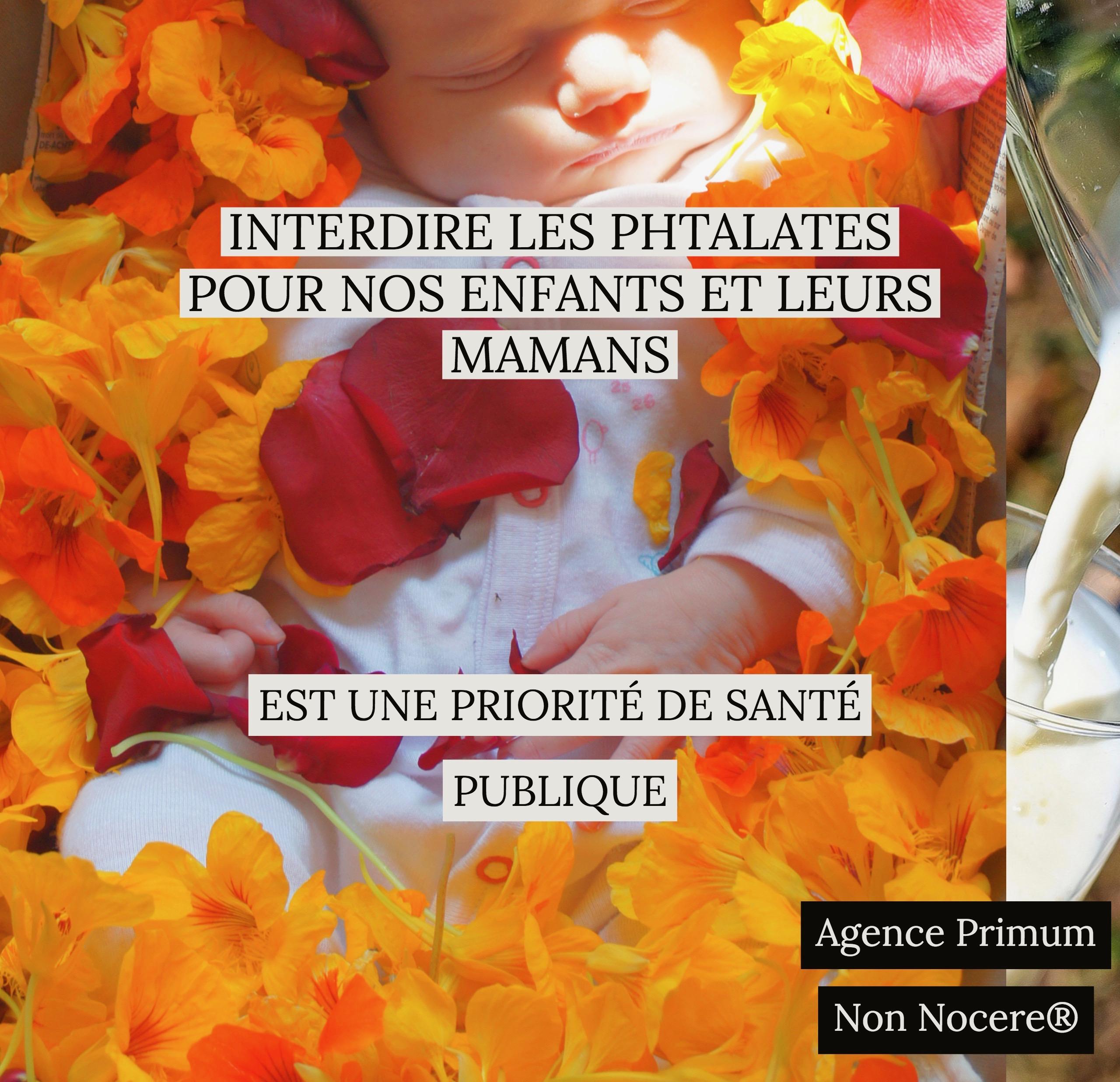 Comment interdire les phtalates aux nouveaux nés et leurs mamans