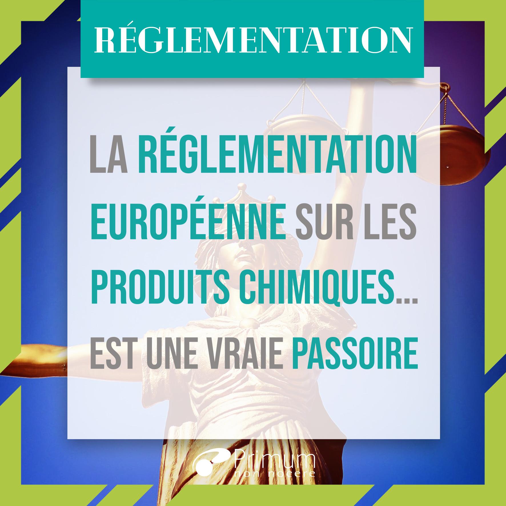 La réglementation européenne sur les produits chimiques… est une vraie passoire