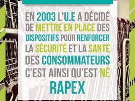 RAPEX et autres dispositifs pour assurer sécurité et santé des consommateurs
