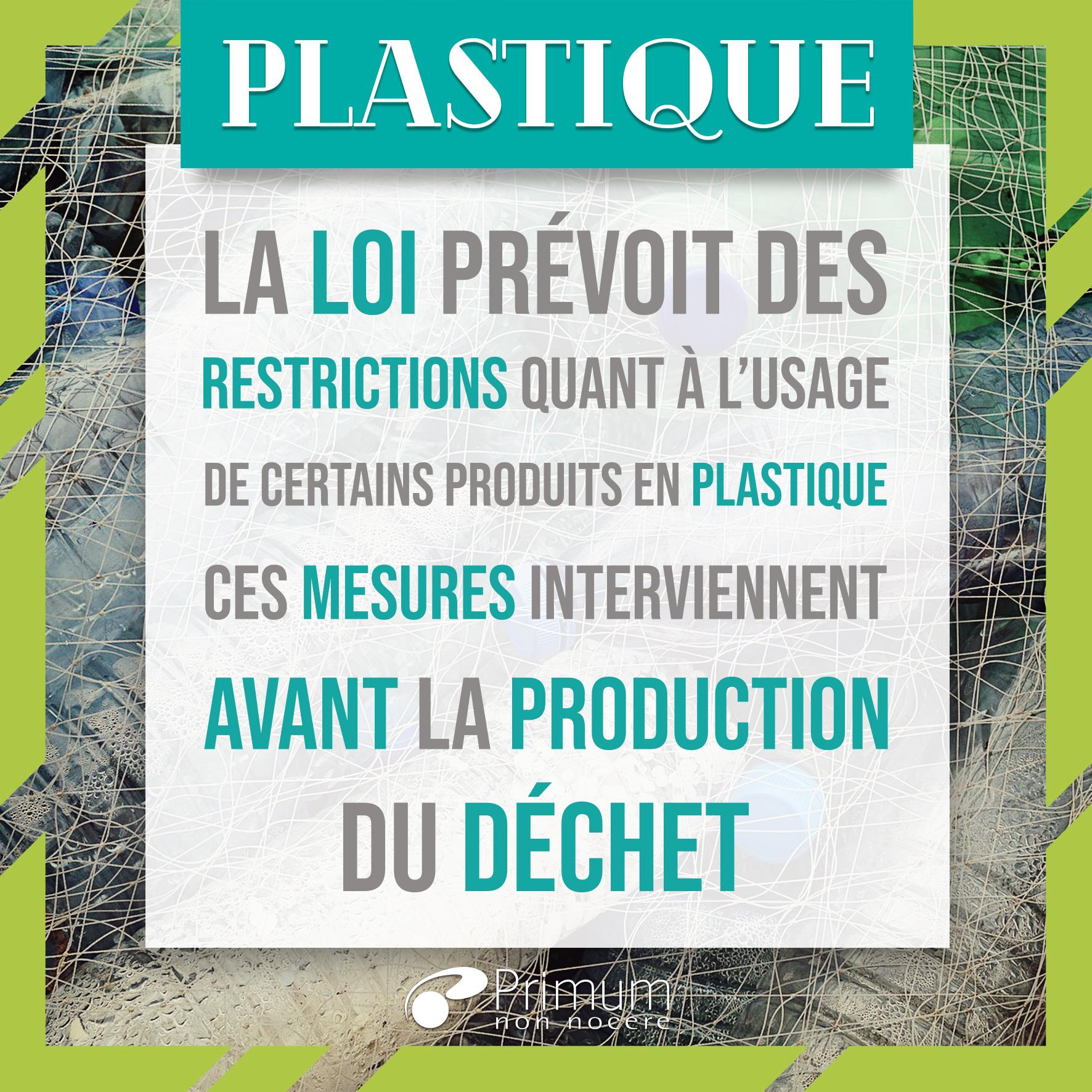 Les déchets plastiques et la règlementation : où en est-on ?