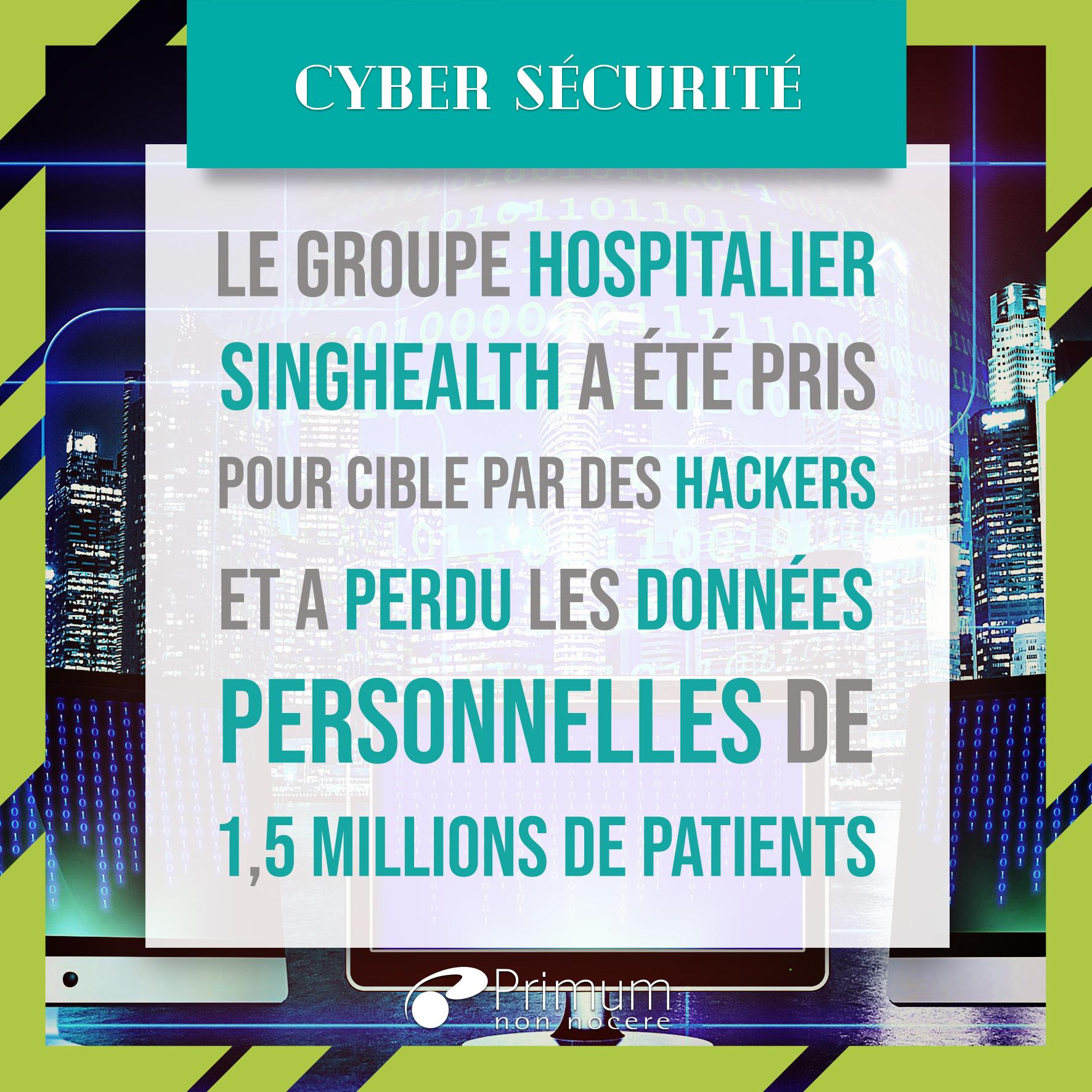 À l'assaut des dossiers médicaux : cyber-attaques contre les groupes hospitaliers