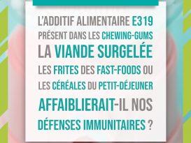 Défenses immunitaires et E319