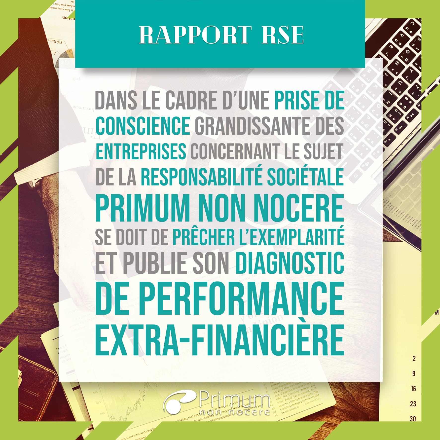 Rapport RSE Primum Non Nocere®