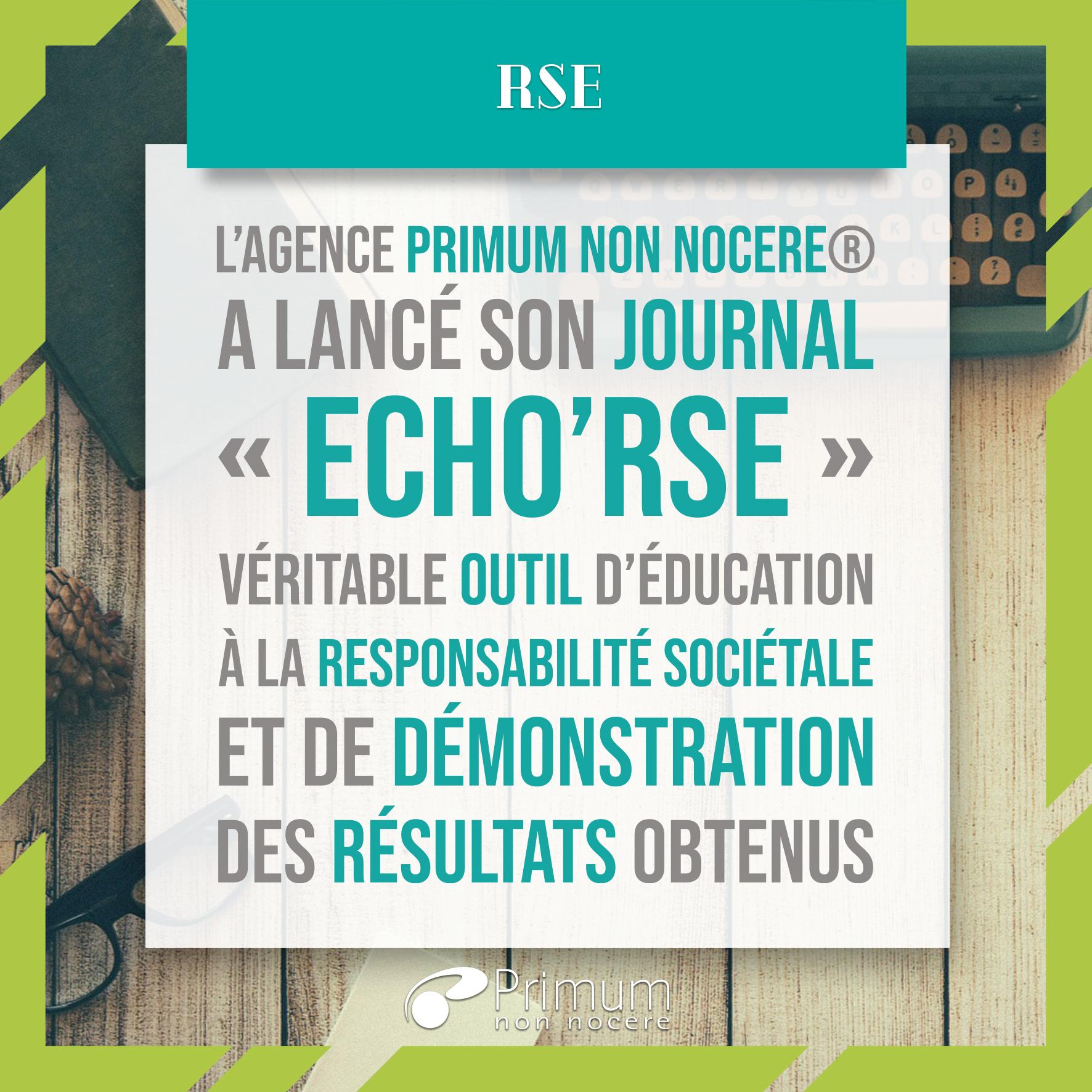 Echo'RSE, le journal de la performance RSE