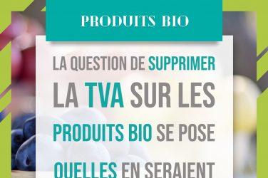 TVA et produits bio