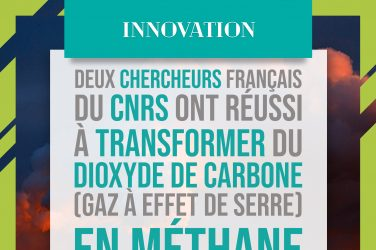 Transformation du gaz carbonique en méthane