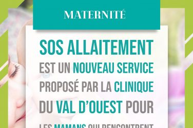 Le parcours de soins: SOS allaitement