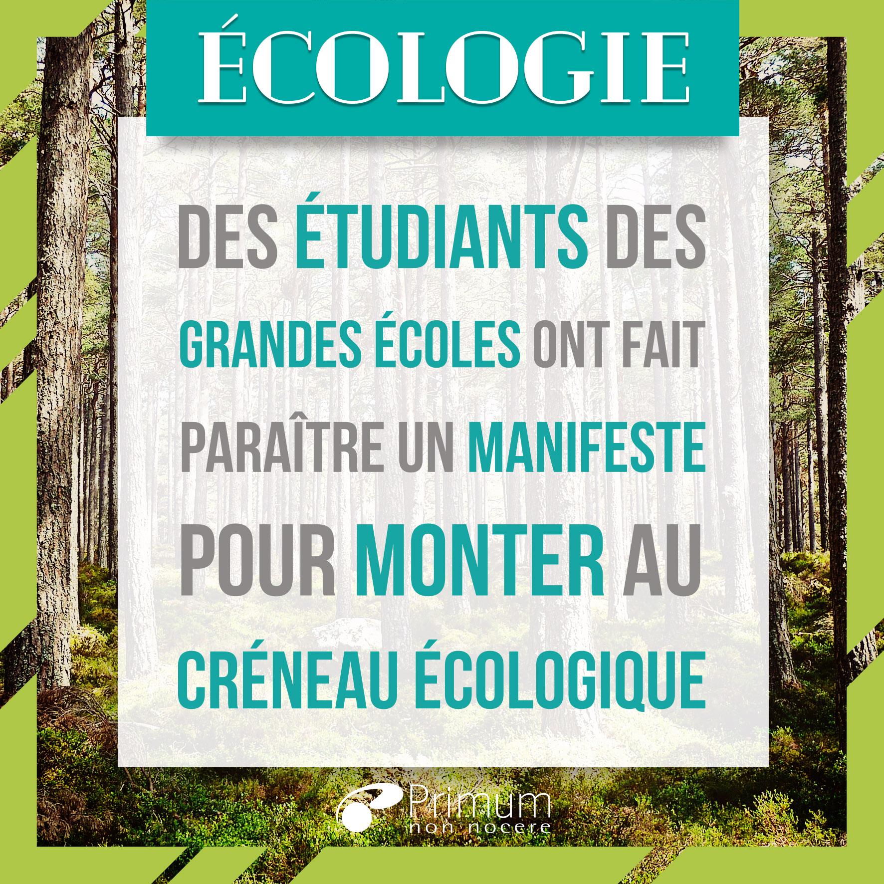 manifeste écologique