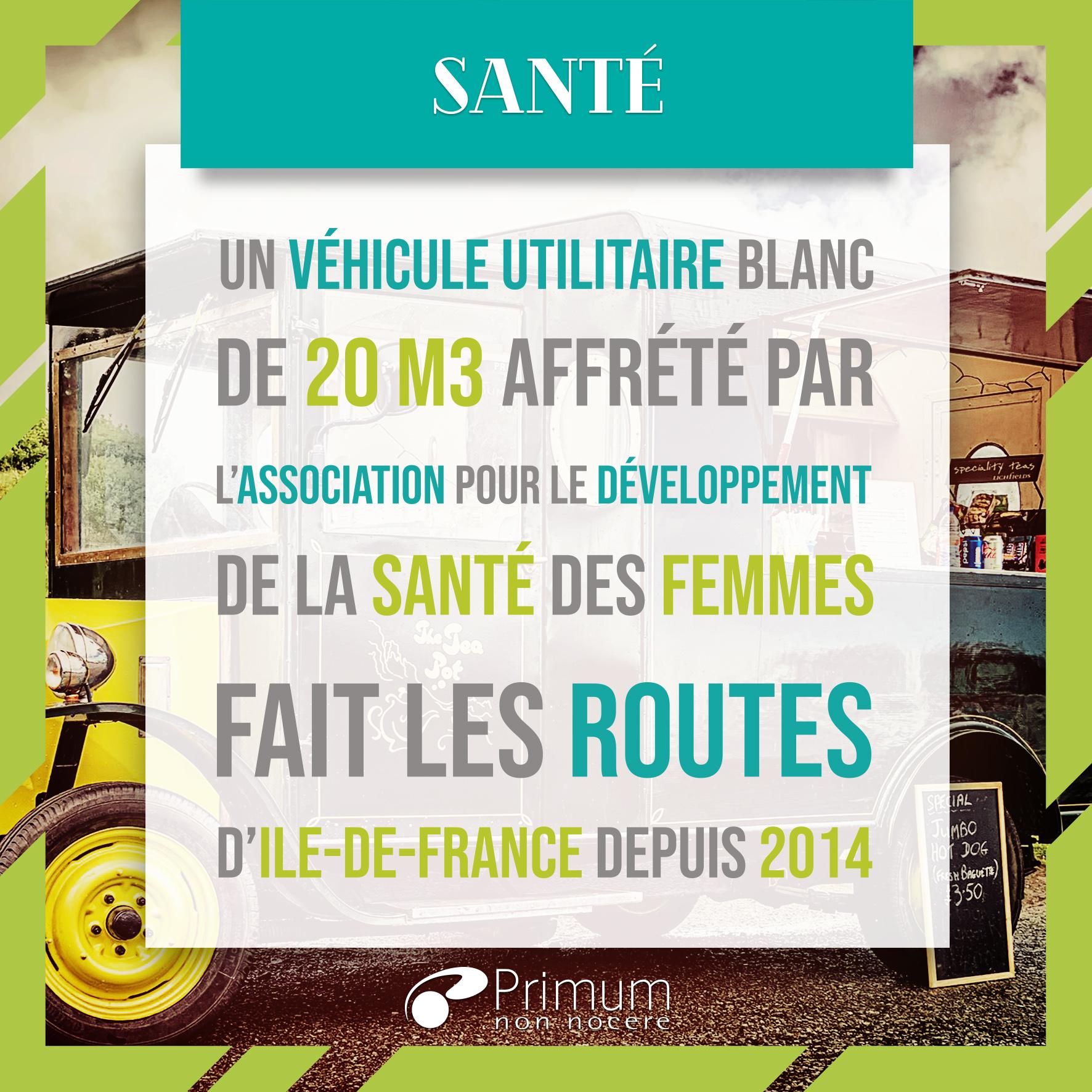 frottis truck association pour le développement de la santé des femmes
