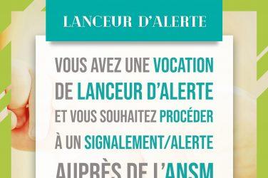 lanceur alerte ANSM