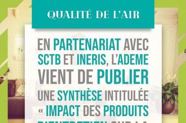 impact des produits d'entretien sur la qualité de l'air intérieur