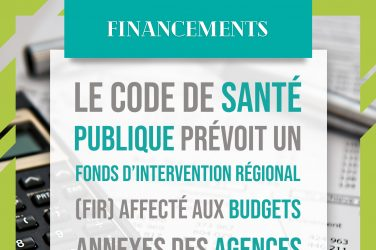 fonds intervention régional ARS