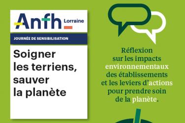 L'ANFH Lorraine fait sa COP 25 !